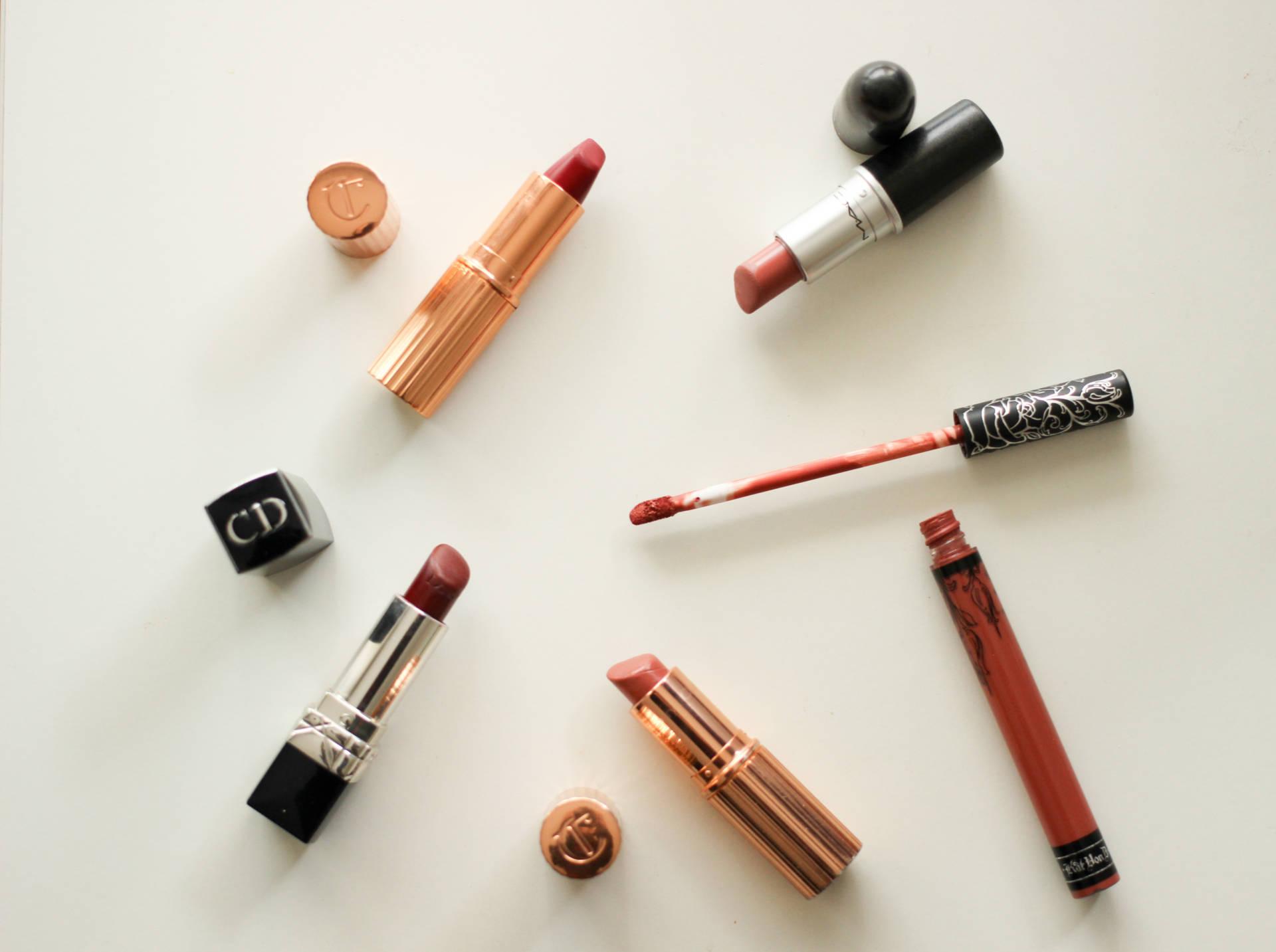 a week in lipsticks